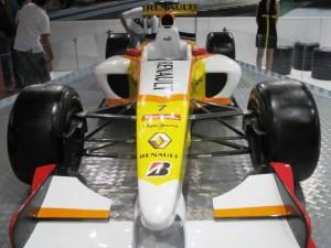 Carro foi usado pelo esoanhol Fernando Alonso