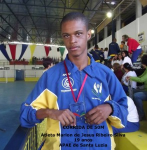 Marlon Silva - 1º lugar- Corrida 50M