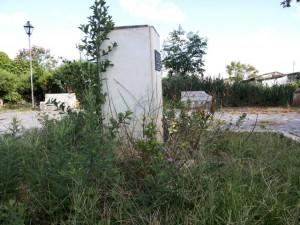Abandono também da praça Senador Modestino Gonçalves - Foto: Ramon Damásio