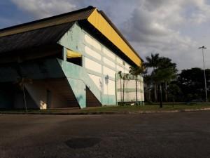 Ginásio foi inaugurado em 1982
