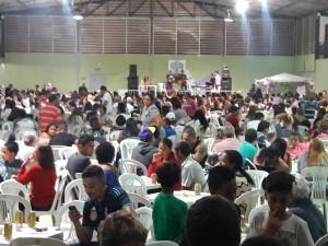 Centenas de famílias participaram do evento