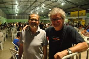Padre Januário - Fundador do Coral e atual vice-presidente ao lado de Otávio Bretas, presidente