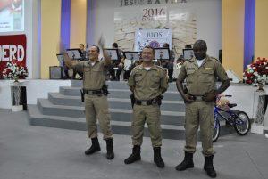 Sargentos Vitor, Juscelino e Alex - Instrutores do Proerd