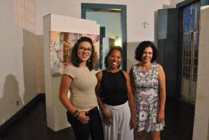 Tânia Mara, Ilma Silvério e Kelly Fonseca